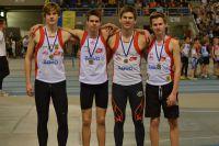 Lees meer: Belgisch record voor cadetten jongens 4x200m